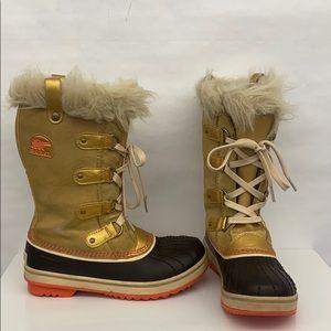 Sorel Girl Snow Boots Sz 3